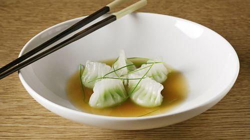 Buddakan Edamame Dumplings