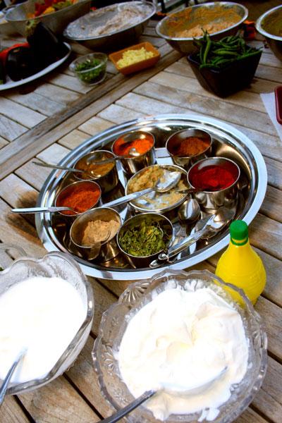 Tandoori Lambchops & Tandoori Shrimp