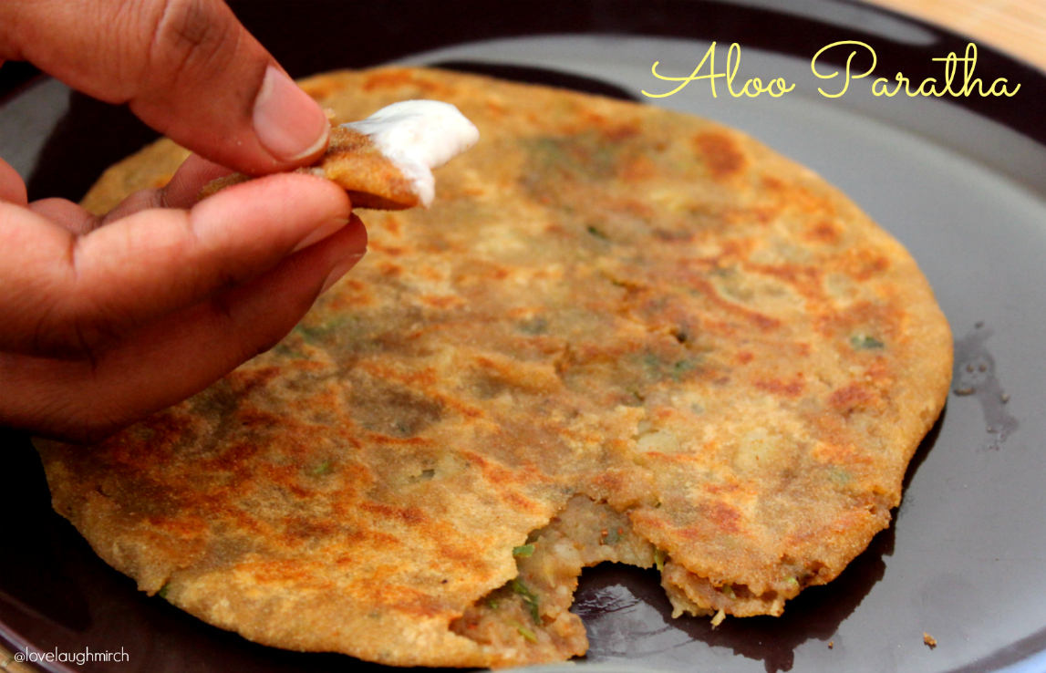 Aloo ka Paratha | Potato stuffed flatbread
