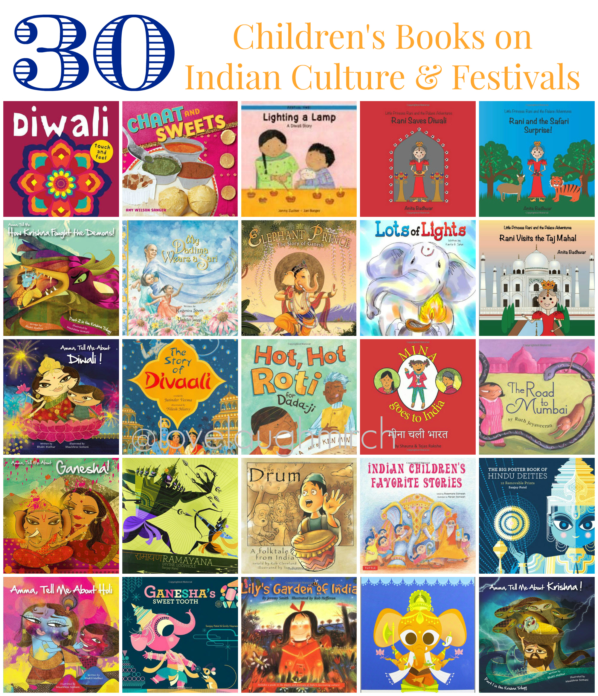 30 Childrens Books On Indian Culture Festivals
