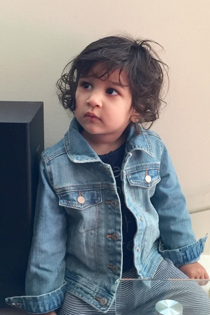 Little Mirchi at 22 months