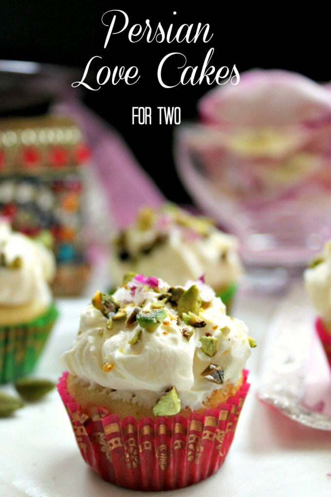 Persian Love Cakes for Two