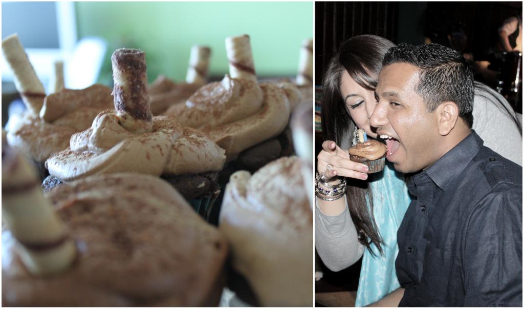 The Double Shot Cappuccino Cupcake