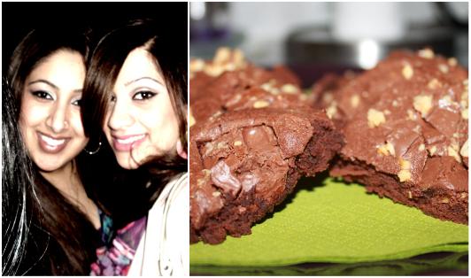 Hazelnut Chocolate Chunk Brownies