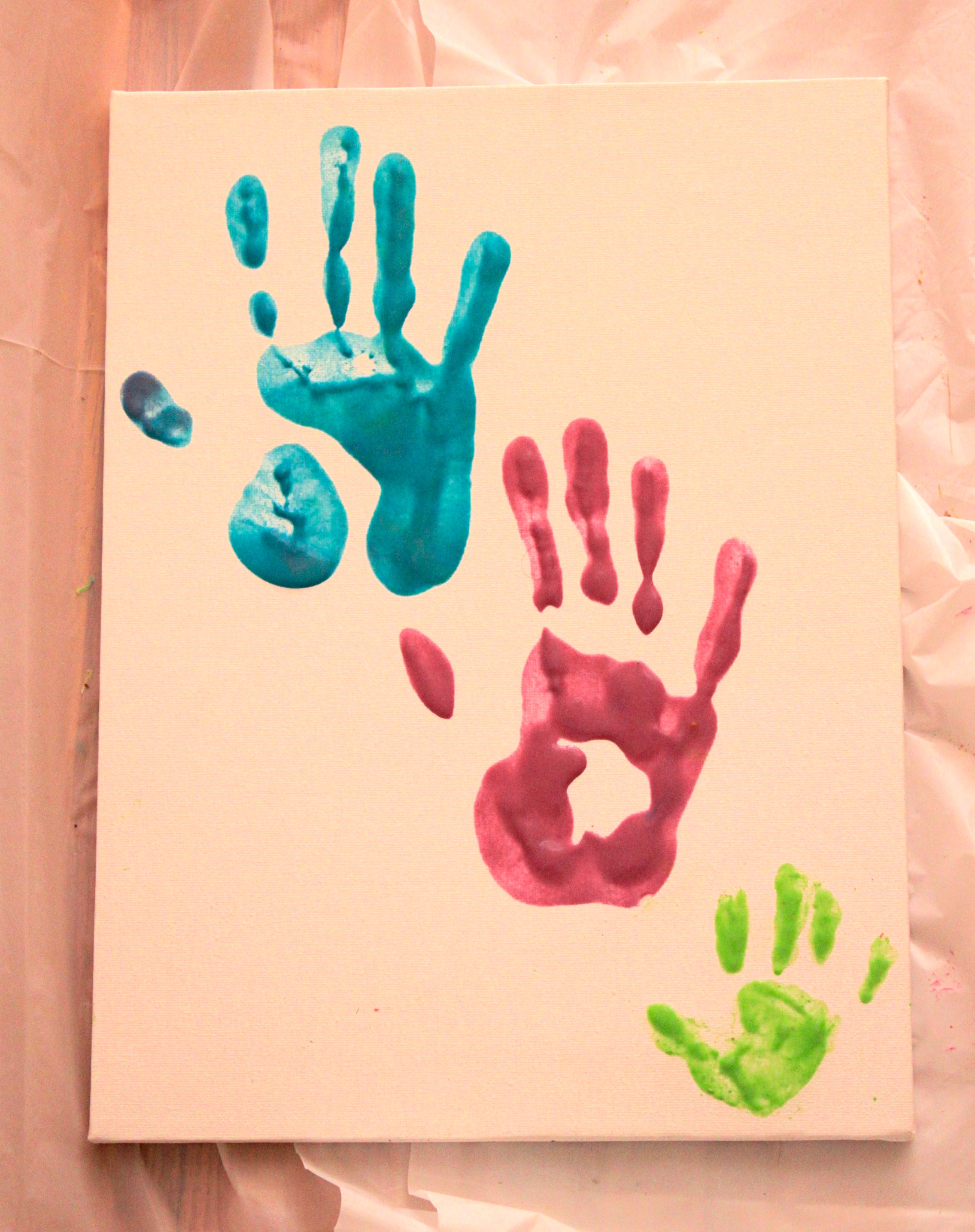 DIY: Homemade Edible Finger Paint