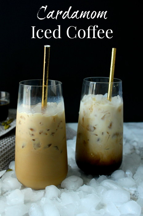 Cardamom Iced Coffee
